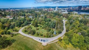 Kenneth Leong Sep 2015, Arboretum aerial view over south lookout