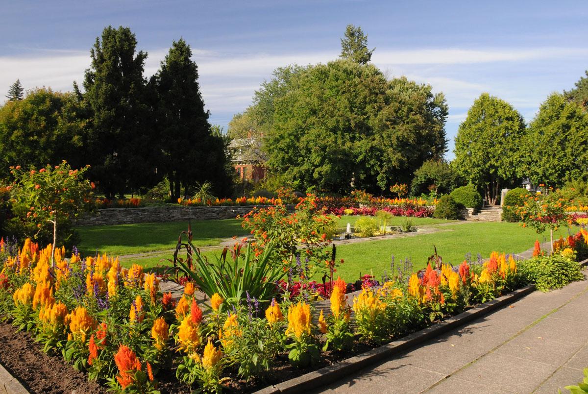 Perennial Favourites: Macoun Memorial Garden